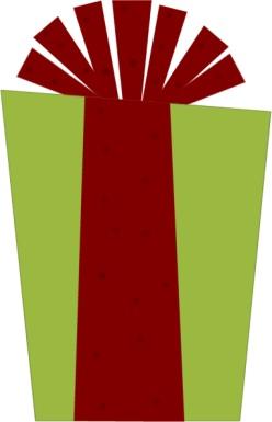 green-christmas-present
